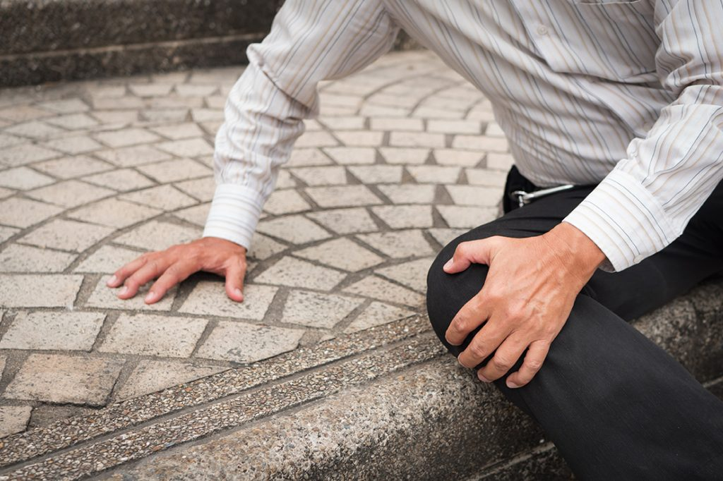 slips trips falls accident claims